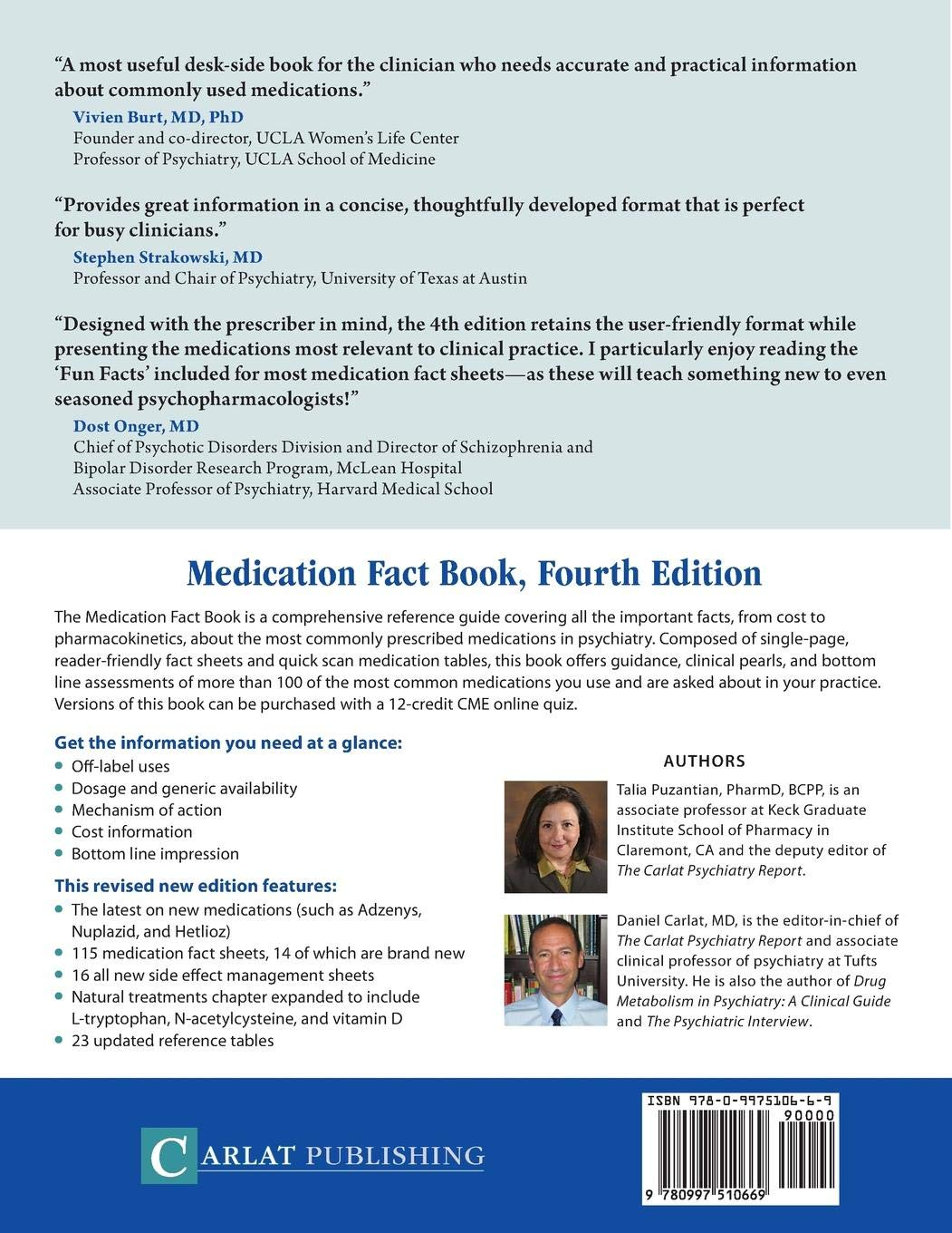 Buy The Medication Fact Book for Psychiatric Practice Book Online at