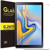 Luibor Samsung Galaxy Tab A 10.5 2018 SM-T590/SM-T595 Tablet Protector de pantalla de vidrio templado Ultra-thin 9H Dureza y la más alta calidad HD clear Protector de pantalla de vidrio para Samsung Galaxy Tab A 10.5 2018 SM-T590/SM-T595 Tableta (1 pieza)