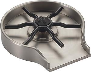 Delta Faucet Glass Rinser for Kitchen Sinks, SpotShield Stainless GR150-SP