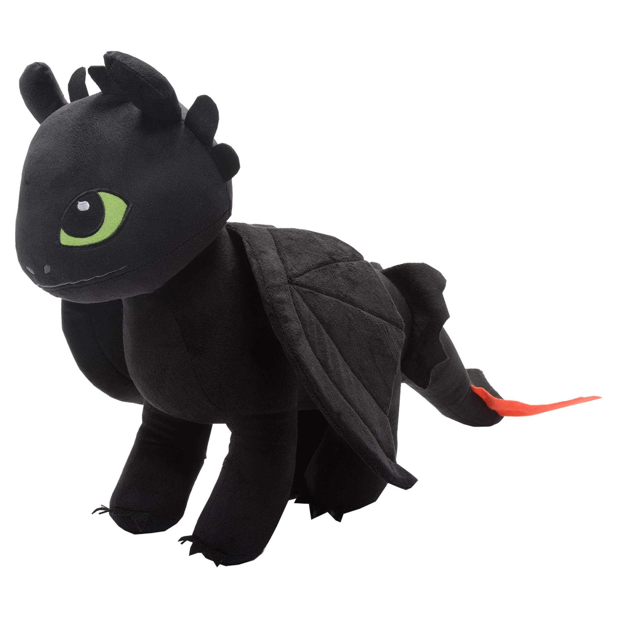 Franco Kids Bedding Super Soft Plush Snuggle Cuddle Pillow, How to How to Train Your Dragon Toothless by Franco