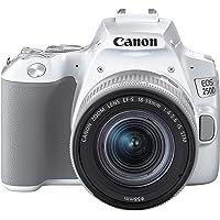 Canon EOS 250D BK 18-55 DC Dijital Fotoğraf Makinesi, Beyaz