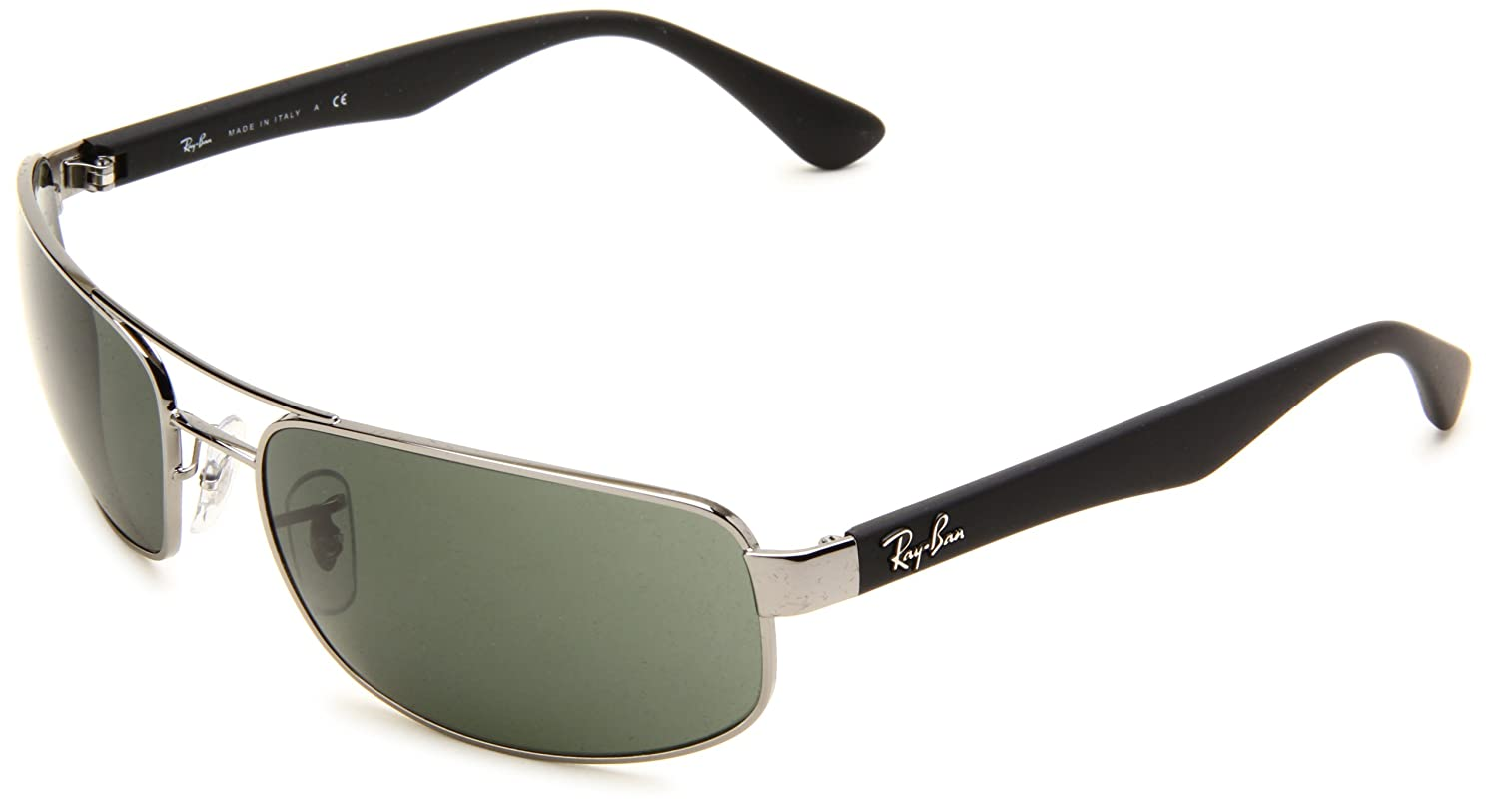 Ray Ban Rb Gafas de sol Rectangulares Gunmetal