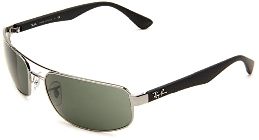 cheap ray bans uk  Ray-ban Men Mod. 3445 Sunglasses, gunmetal (gunmetal), size 61 ...