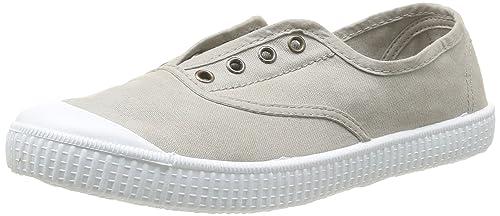 Calego - Zapatillas de casa de tela para niños, Beige (Beige), 28