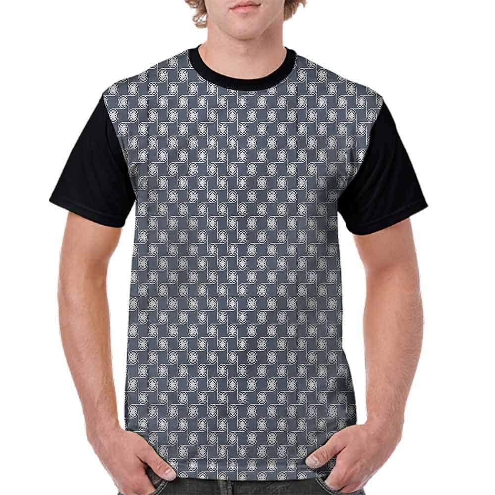 BlountDecor Performance T-Shirt,Eastern Japanese Ornate Fashion Personality Customization