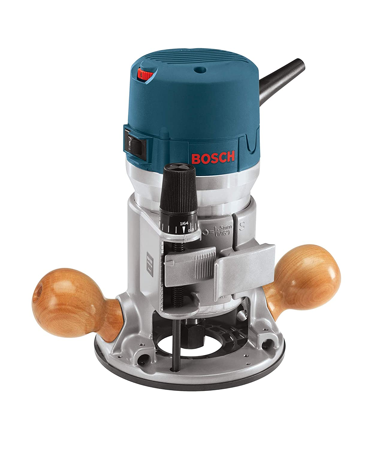 Bosch 1617EVSPK Wood Router Tool Combo Kit - 2.25 Horsepower Plunge Router & Fixed Base Router