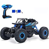 SZJJX RC Cars Off-Road Remote Control Car Trucks Vehicle 2.4Ghz 4WD Powerful 1: 18 Racing Climbing Cars Radio Electric Rock C