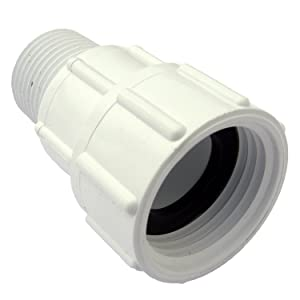 LASCO 15-1629 PVC Swivel Hose Adapter with 3/4-Inch Female Hose and 1/2-Inch Male Pipe Thread