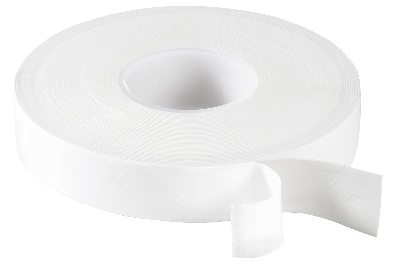 Poppstar Cinta de aislamiento universal autosellante (Cinta de sellado), 10 x 10 m, 19 cm ancho, blanco 1008617