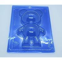Bear Chocolate Mold- 3 Piece Special Mold- Porto Formas COD 05