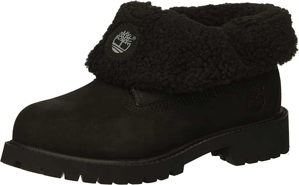 a60bb8cf4e61 Timberland Baby Icon Collection Roll-top with Fleece Fashion Boot