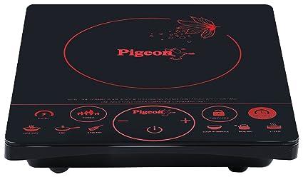 Pigeon Rapido Touch 2000-Watt Induction Cooktop (Black)