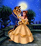 Beauty and the Beast Customized 14x16 inch Silk Print Poster/WallPaper Great Gift