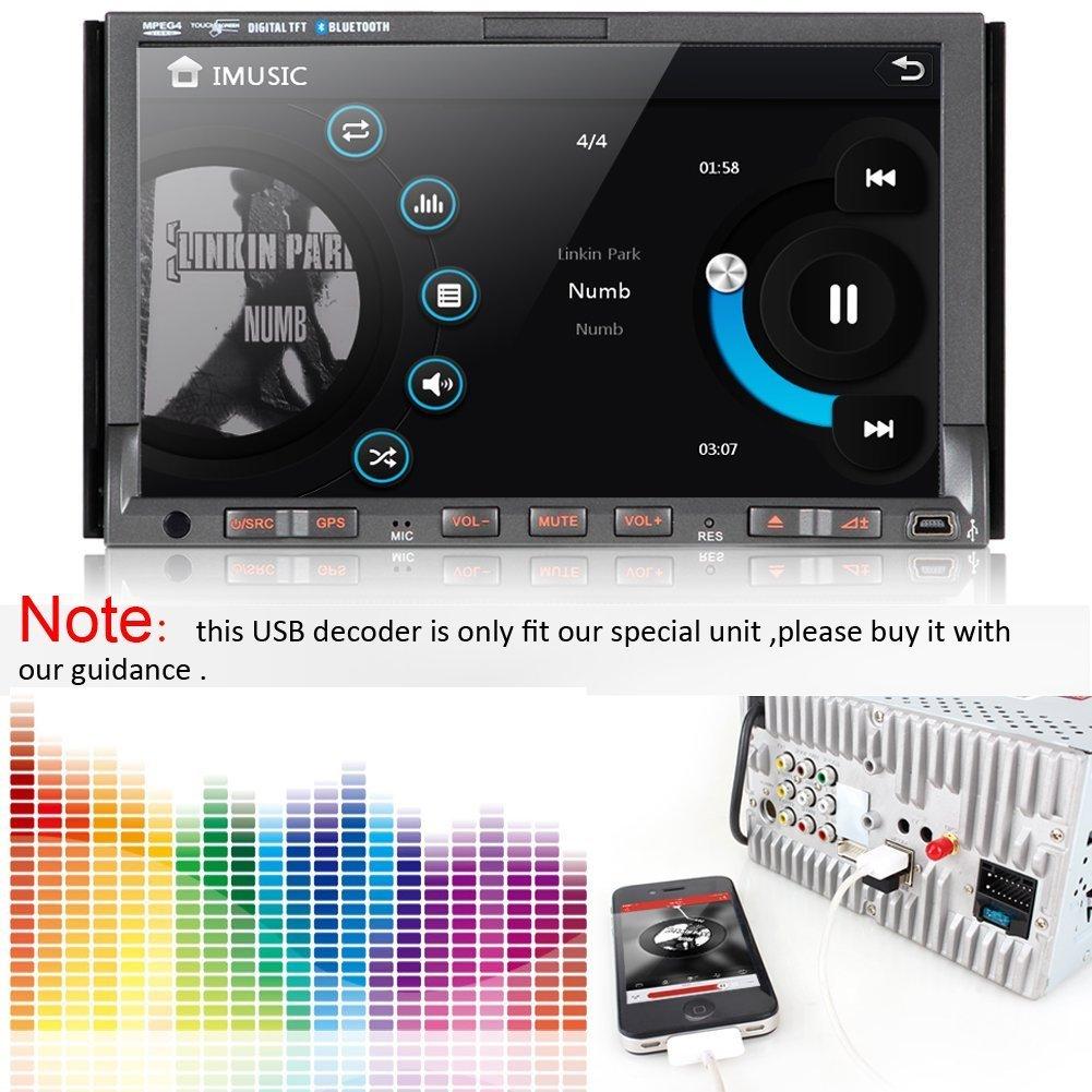 Pumpkin Mini Usb Audio Decoder Car Audioradio Converter Amazonco Wiring Diagram Electronics