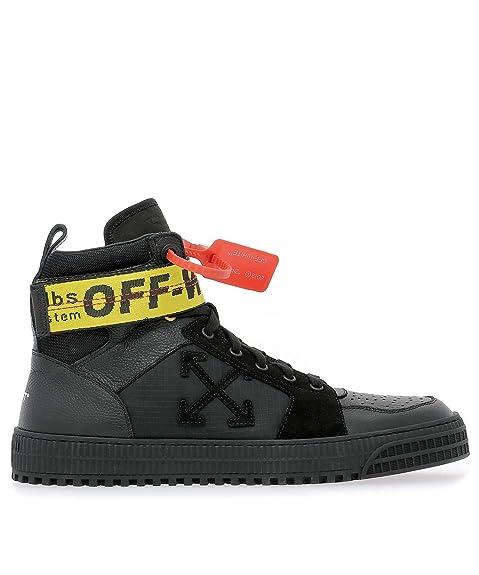 OFF-WHITE - Zapatillas para Hombre Negro Negro IT - Marke Größe, Color Negro, Talla 42 EU: Amazon.es: Zapatos y complementos