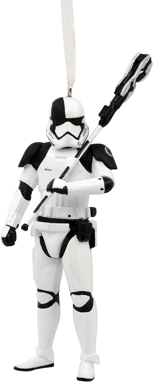 Hallmark Disney Lucasfilm Star Wars Ep VIII Trooper Christmas Ornaments  Stormtrooper  Captain Phasma