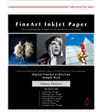 Hahnemühle 10640308 Digital FineArt Samplepack, Glanz, glossy, 210 x 297 mm