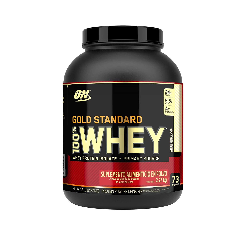 100% Whey Gold Standard 5 lbs (2273g): Amazon.es: Deportes y ...