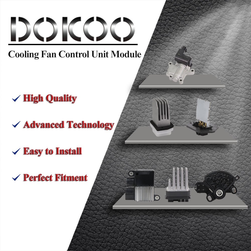 Bingua com - DOICOO Cooling Fan Control Unit Module ECU ECM