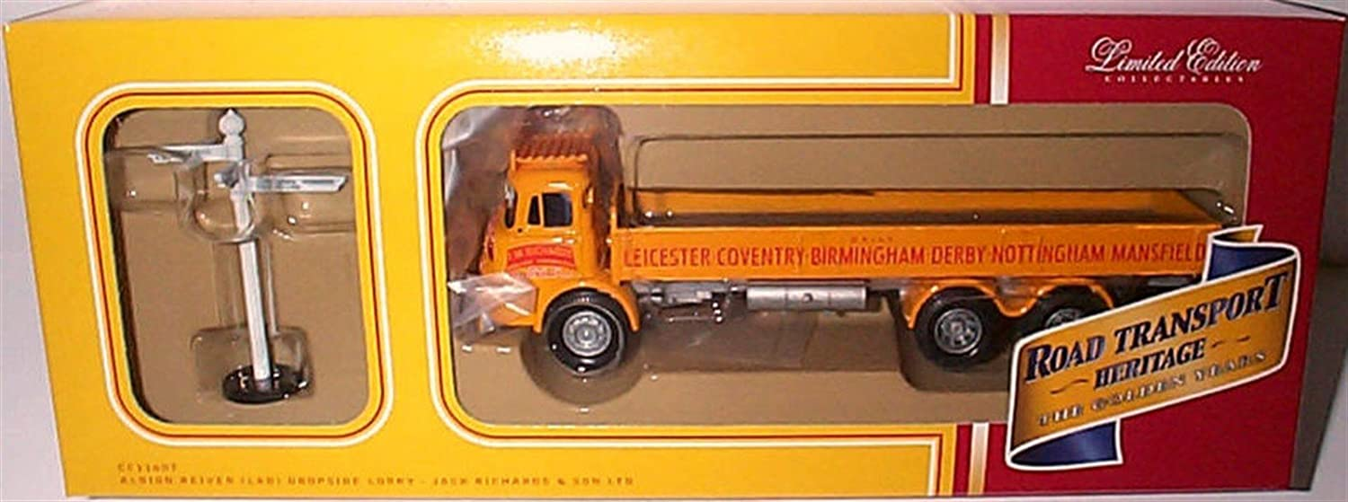 Corgi classics J.W richards albion reiver LAD dropside jack richards & sons lorry 1 50 scale limited edition diecast model
