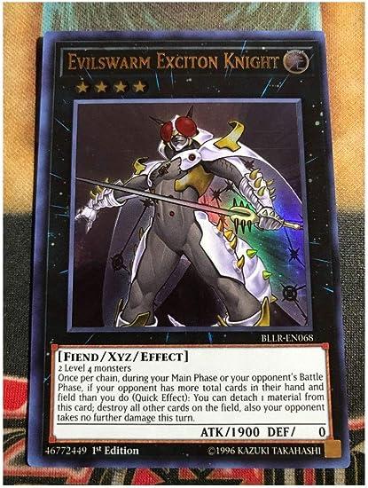 Evilswarm Excition Knight *Ultra Rare* BLLR-EN068 1st Edition NM
