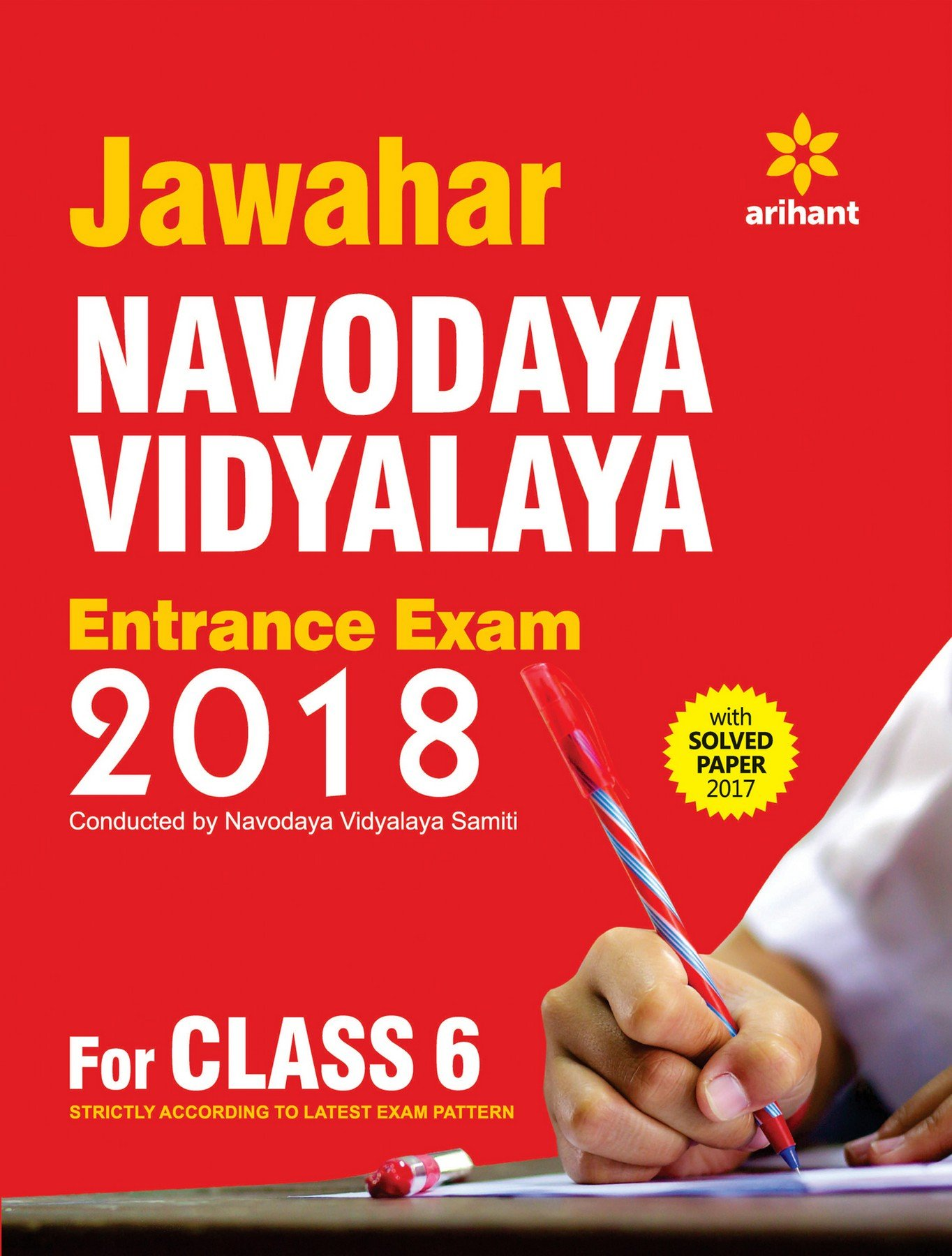Buy Jawahar Navodaya Vidyalaya Entrance Exam 2018 for Class 6 Book