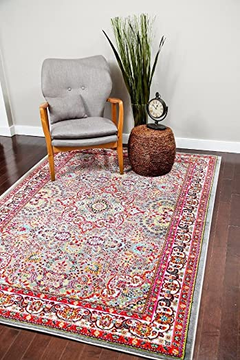10015 Gray 2 0x3 4 Area Rug Carpet Large New