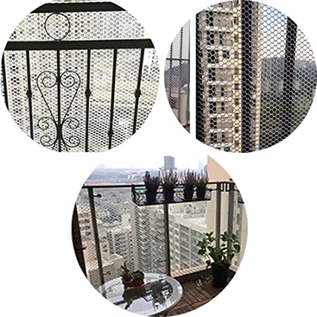Malla de Seguridad de Plástico, Malla de Plástico Blanca for Jardín, Malla de Seguridad For Balcones