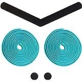Alien Pros Bike Handlebar Tape EVA (Set of 2) Black Red White Blue Pink Green - Enhance Your Bike Grip with These…