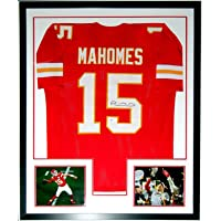 $1499 » Patrick Mahomes Authentic Signed Kansas City Chiefs Jersey and Super Bowl LIV Champion 8x10 - Beckett Authentication Services BAS COA…