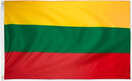 Lithuania Flag 3x5 Polyester Indoor Outdoor Flag Lithuanian Country Banner