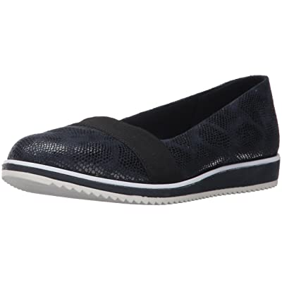 Anne Klein AK Sport Women's Michelle Fabric Loafer Flat, Navy Multi, 9 M US | Loafers & Slip-Ons