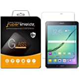 (2 Pack) Supershieldz for Samsung Galaxy Tab S2 8.0 Screen Protector (Tempered Glass) Anti Scratch, Bubble Free