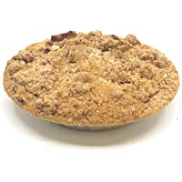 "Vegan 6"" Apple Betty Pie with Walnuts: Homemade Fresh, Plant-Based, No Artificial Colors, Flavors, or Preservatives"