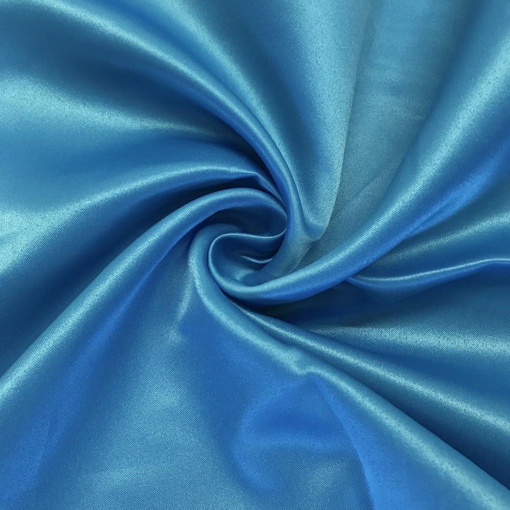"30 Yard Roll NAVY Peau de Soie Matte Satin Lamour 100/% Polyester 60/""w Fabric"