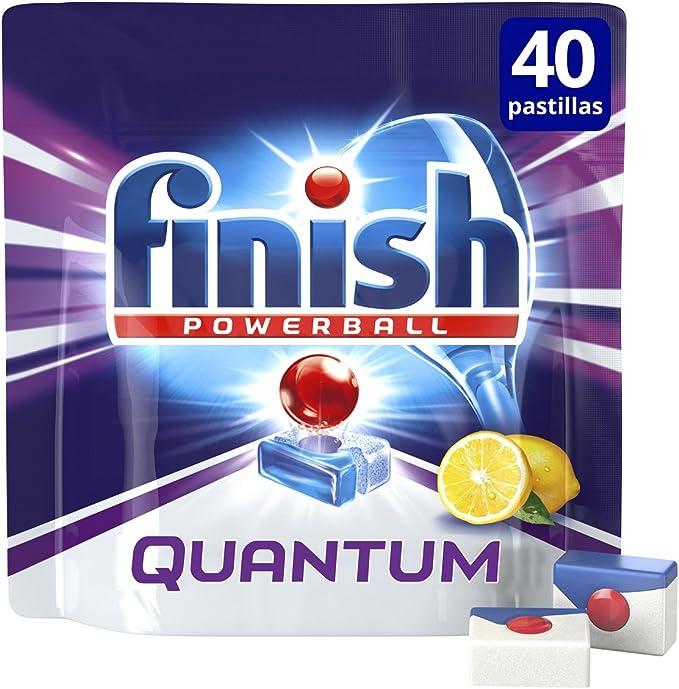 Finish Quantum Limón Pastillas para Lavavajillas - 26 + 14 ...