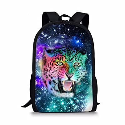 Coloranimal Cool 3D Animal Backpacks for Boys Children Galaxy Bookbags