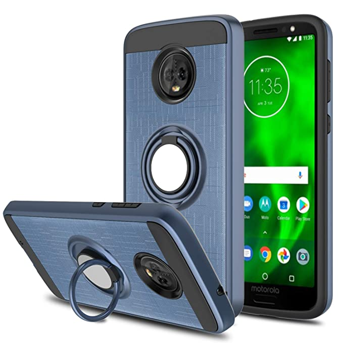 DONWELL - Carcasa para Motorola Moto G6, rotación de 360 ...