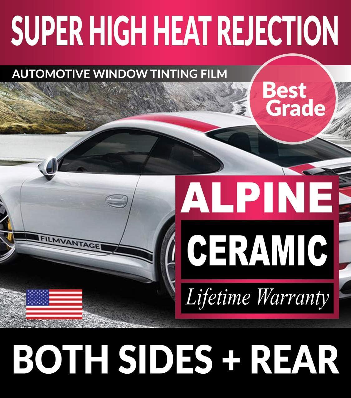 Super High Heat Rejection Alpine Precut Window Tint for Alfa Romeo Giulia 2017 2018 2019 - F70R35