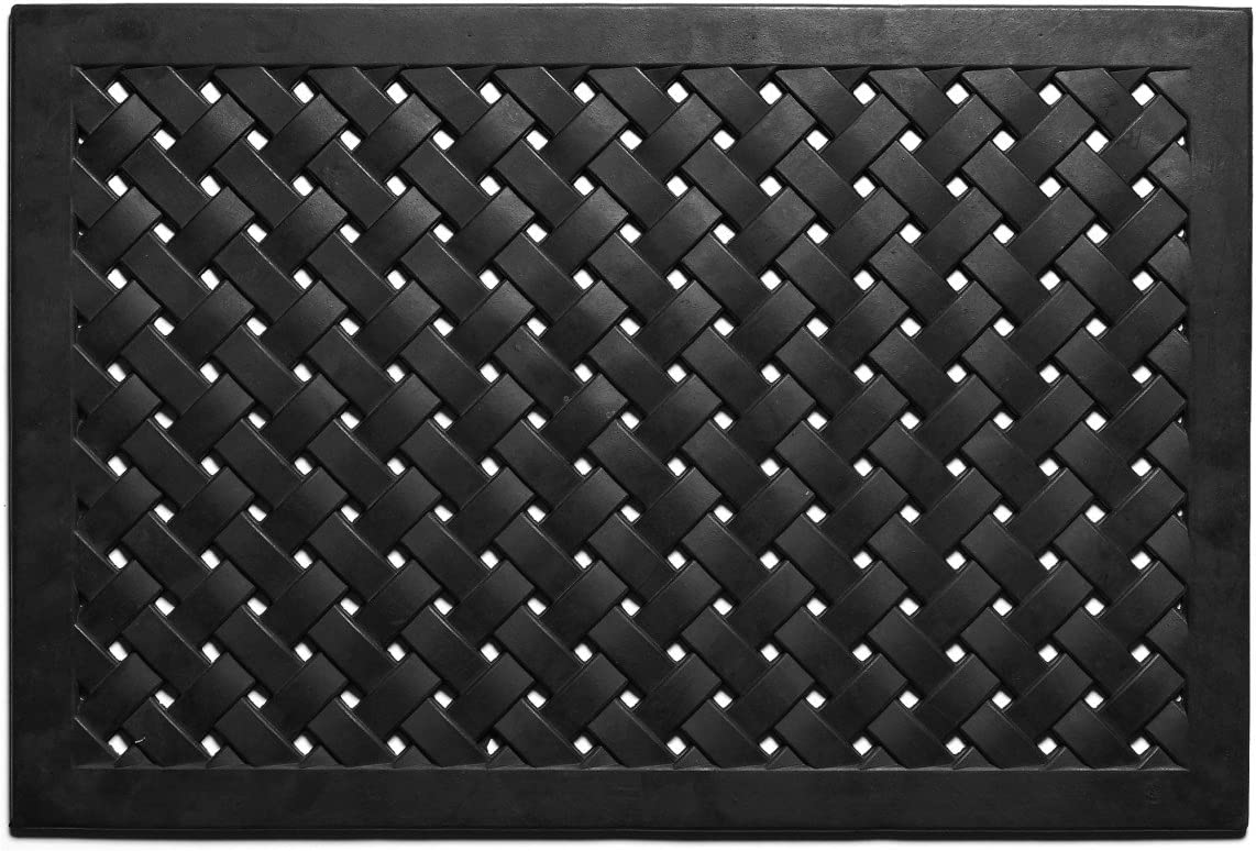 Calloway Mills 900072436 Hampton Weave Rubber Doormat, 2 x 3