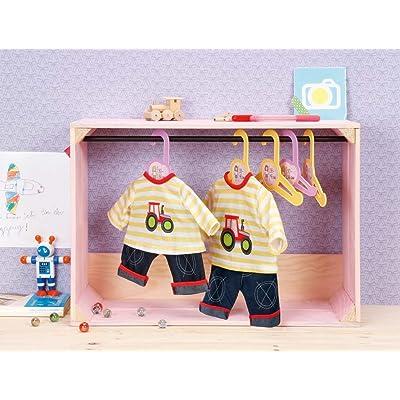 Zapf Dolly Moda 870051 Juego de ropita para muñeca Accesorio para muñecas - Accesorios para muñecas (Juego de ropita para muñeca, 1 año(s), 30-36 cm, 230 mm, 13 mm): Juguetes y juegos