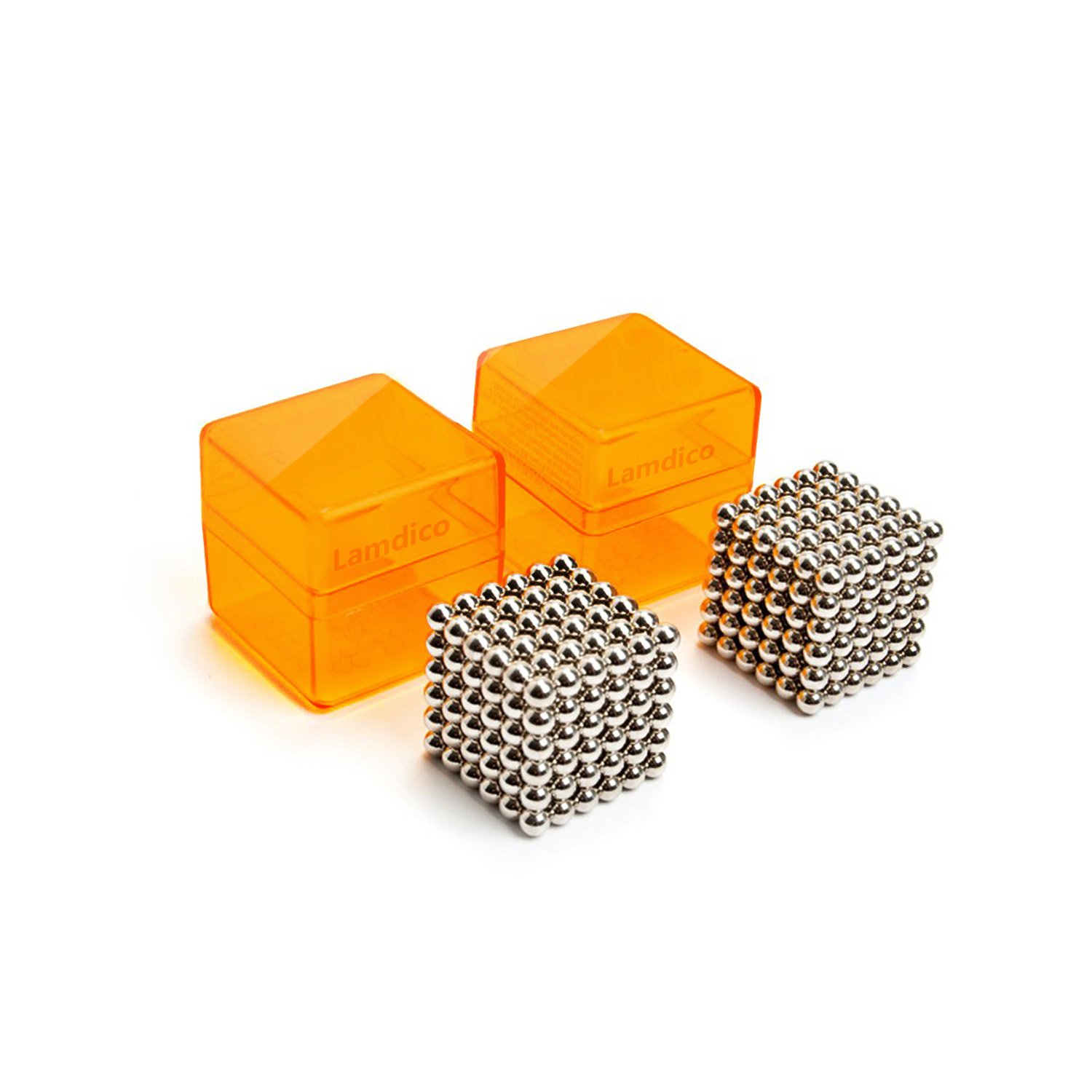 Lamdico Fidget Toy, Rollable Cube, Buildable Sculpture Toy with Portable Carrying Case for Stress Relief by Lamdico (Image #2)