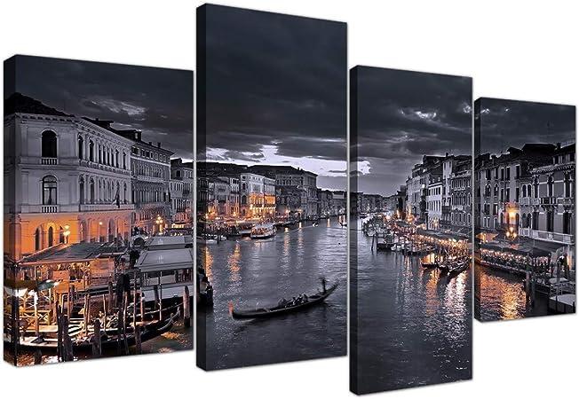 Wallfillers 4229 - Lienzo decorativo (4 a 130 cm), diseño de Canal ...