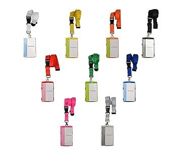 10 x  Schlüsselband Lanyard mit Kartenhülle Ausweishalter Namensschild  neu