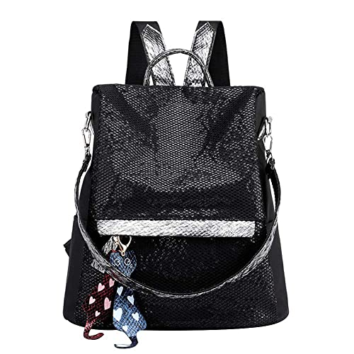 926d69fe385 Women Backpack Purse Waterproof Nylon Anti-theft Rucksack ...