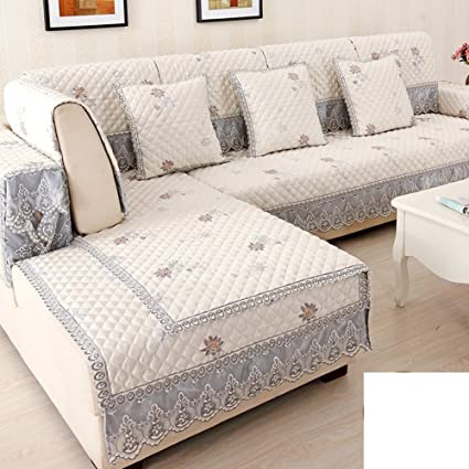 Amazon.com: HDVHXVHJWCXHXF European-Style Sofa Cushions ...