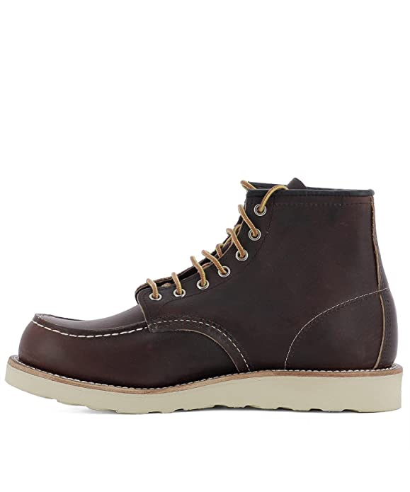 RED WING HOMME 08138 MARRON CUIR BOTTINES CLTQBVwb