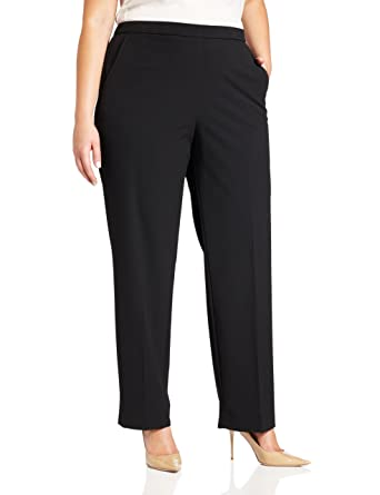 2cd0a26e3c0 Briggs New York Women s Plus-Size All Around Comfort Pant at Amazon ...