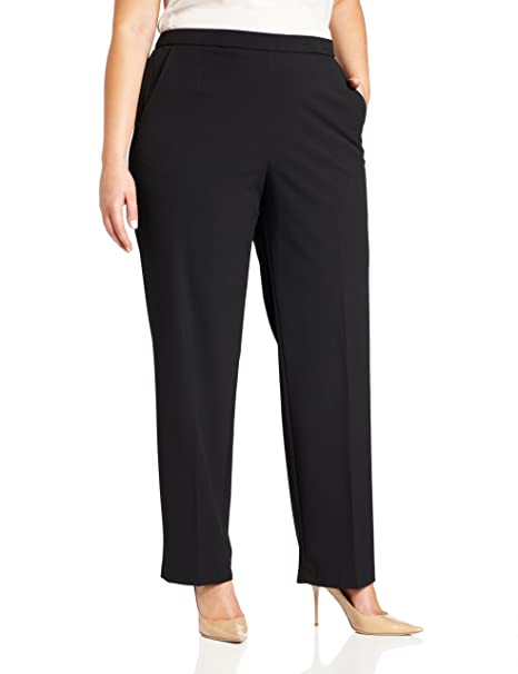 Briggs New York Women\'s Plus-Size All Around Comfort Pant