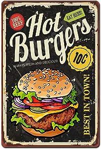 Eudora Mill Hot Burgers Sign Best in Town Burgers - 8